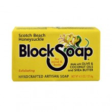 Block Soap Bar Scotch Beach Honeysuckle  (12x4.5 OZ)