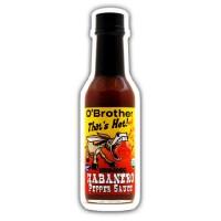 O`Brothers Hot Sauce Habanero Pepper Sauce (12X5 OZ)