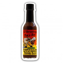 O`Brothers Hot Sauce Chipotle Habanero Pepper Sauce (12X5 OZ)