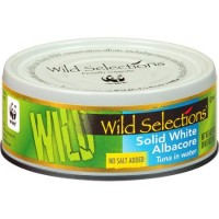 Wild Selections Solid White Albacore Tuna in Water (12x5 OZ)