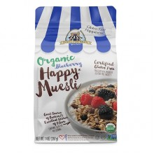 Bakery On Main Happy Organic Muesli Blueberry (4x14 OZ)