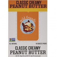 Wild Friends Classic Creamy Peanut Butter (10x1.15 OZ)