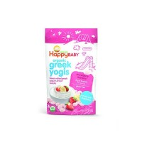 Happy Baby Happy Yogis Strawberry and Banana Organic Yogurt  (8x1 OZ)