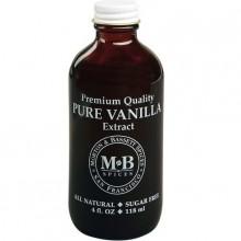 Morton & Bassett Vanilla Extract (3x4 OZ)