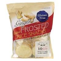 Kameda Crisps Frosted Rice Crackers Ginger (6x4.1 OZ)