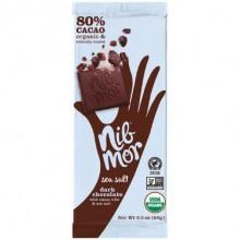 NibMor Dark Chocolate Sea Salt  (12x2.2 OZ)