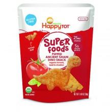 Happy Tot Organic Tomato, Basil & Cheddar Super Foods Dino Baby (8x1.48 OZ)