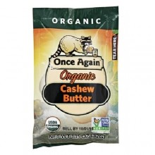 Once Again Organic Cashew Butter Squeeze (10X1.15 OZ)