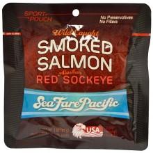 Seafare Pacific Smoked Sockeye Salmon (12X3 OZ)