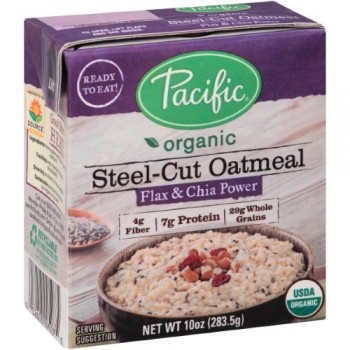 Pacific Natural Foods Flax And Chia Power Oatmeal (12X10 OZ)