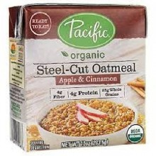Pacific Natural Foods Unsweetened Oatmeal (12X10 OZ)