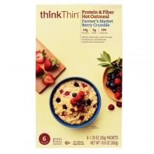 ThinkThin Farmer's Market Berry Crumble Oatmeal (12x10.6 OZ)
