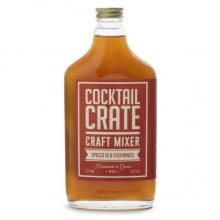 Cocktail Crate Spiced Old Fashioned Craft Mixer  (6x12.7 OZ)