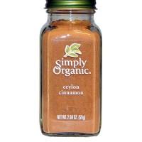 Simply Organic Ceylon Cinnamon Grind (6X2.08 OZ)