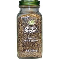 Simply Organic Pepper Black Coarse (6X2.47 OZ)