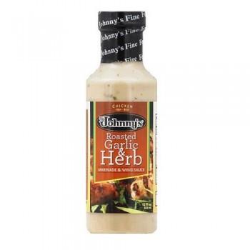 Johnny's Garlic & Herb Marinade (6x12 OZ)