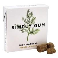 Simply Gum All Natural Gum Fennel Licorice (12X15 Ct)