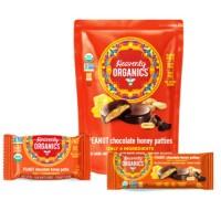 Heavenly Organics Chocolate Honey Peanut Patties (16x1.16 OZ)