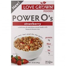 Love Grown Foods Power O's Strawberry (6x10 OZ)