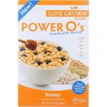 Love Grown Foods Power O's Cereal Honey (6x10 OZ)