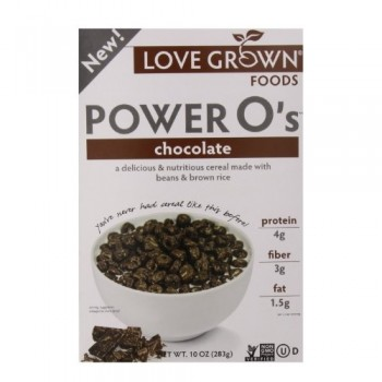 Love Grown Foods Power O's Chocolate (6x10 OZ)