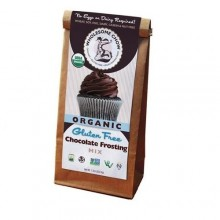 Wholesome Chow Organic Gluten Free Frosting Mix Chocolate (6x7.2 OZ)