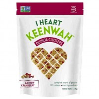 I Heart Keenwah Cashew Cranberry Quinoa Cluster (6x4 OZ)