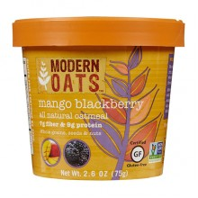 Modern Oats Mango Blackberry Oatmeal (6x2.6 OZ)