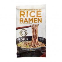 Lotus Foods Buckwheat Mushroom Rice Ramen with Vegetable Broth (10x2.8 OZ)