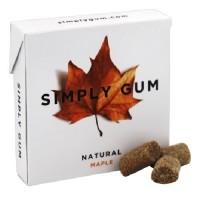 Simply Gum All Natural Gum Maple (12X15 Ct)