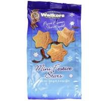 Walkers Shortbread Cookies Mini Hanukkah Stars (12x4.4 OZ)
