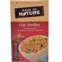 Back To Nature Granola Cereal Oat Medley (6x10 OZ)