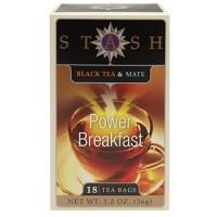 Stash Black Tea & Mate Power Breakfast (6x18 BAG )