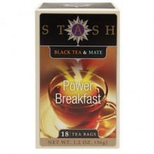 Stash Black Tea & Mate Power Breakfast (6x18 BAG )