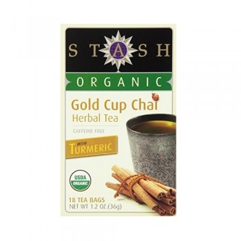 Stash Organic Gold Cup Chai Tea (6x18 BAG )