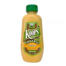 Koops Organic Yellow Mustard (12x12 OZ)