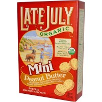 Late July Organic Mini Peanut Butter Bite Size (12x5 OZ)