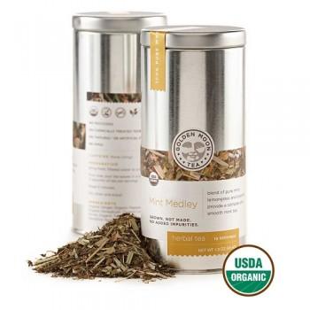 Golden Moon Mint Medley Tea (6x1.6 OZ)