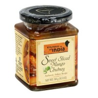 Kitchens Of India Sweet Sliced Mango Chutney  (6x10.5 OZ)