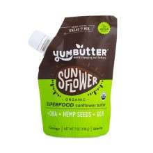 Yum Butter Organic Super Food Sunflower Butter (6x7 OZ)