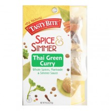 Tasty Bite Thai Green Curry Whole Spices & Simmer Sauce (5x9.5 OZ)