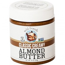 Wild Friends Foods Almond Butter Classic Creamy (6x10 OZ)