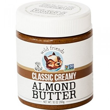 Wild Friends Foods Almond Butter Classic Creamy (6x10 OZ)