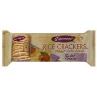Crunchmaster Rice Crackers Toasted Sesame (12x3.5 OZ)