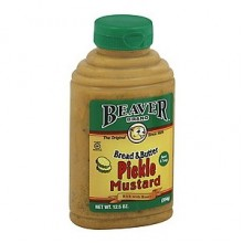 Beaver Mustard Bread & Butter Pickle (6x12.5 OZ)