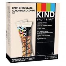 Kind Dark Chocolate Almond and Coconut Bars (12x1.4 OZ)