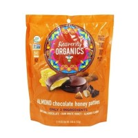 Heavenly Organics Almond Chocolate Honey Patties  (6x4.66 OZ)