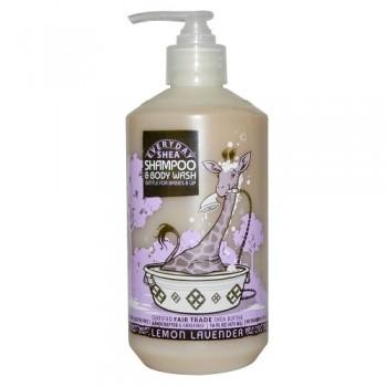 Everyday Shea Shampoo & Body Wash for Babies and Up Lemon Lavender (1x16 OZ)