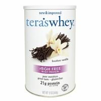 Tera's Whey rBGH Free Whey Protein Bourbon Vanilla  (1x12 OZ)