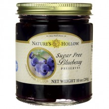 Nature's Hollow Sugar Free Blueberry Preserves (6x10 OZ)